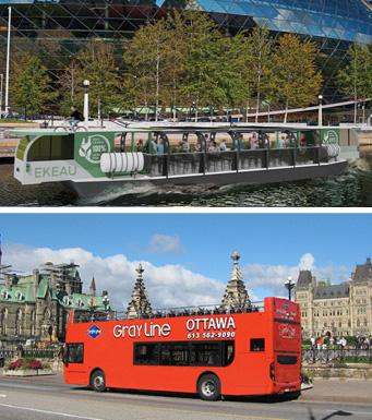 Canal Rideau et Grayline