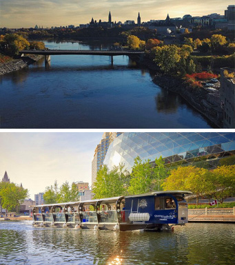 Croisière fluviale et Canal Rideau